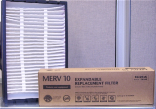 Lennox X8303 Hcxf16 10 Expandable Filter Kit 16x25x5