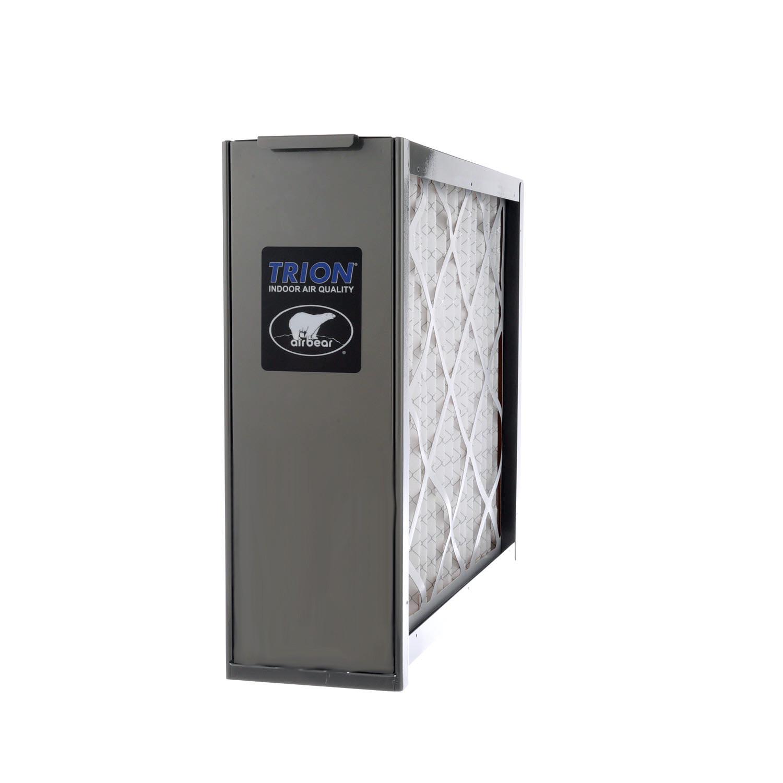 Trion 455602-027 - Air Bear Supreme 2000 20x25x5 Media Air Cleaner- MERV 8, Warm Grey