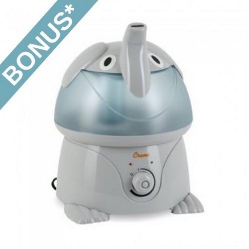 Crane Elephant Cool Mist Humidifier - EE-3186