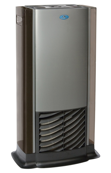 Essick Air D46 720 Tower Multi-Room Evaporative Humidifier - Charcoal / Titanium Finish