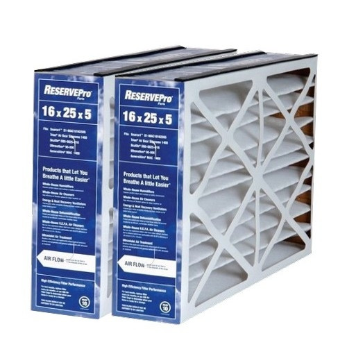 Lowest Price 5fm1625 16 X 25 X 5 Reservepro Air Filter 2 Pack
