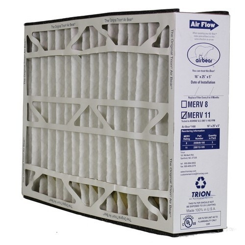 Lowest Price Trion Air Bear 259112 105 Air Filter 16x25x5