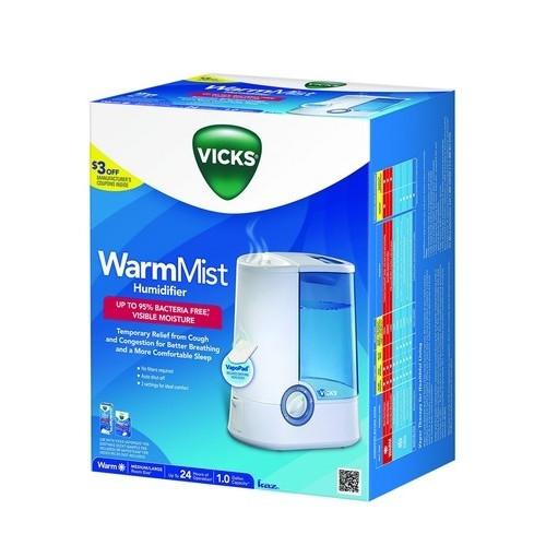 Lowest Price Vicks V750 Warm Mist Humidifier