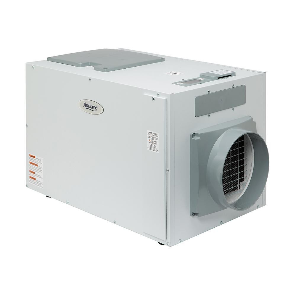 Aprilaire 1870 Dehumidifier 130 Pints Per Day With Automatic 700 Power Humidifier Digital Controller Control