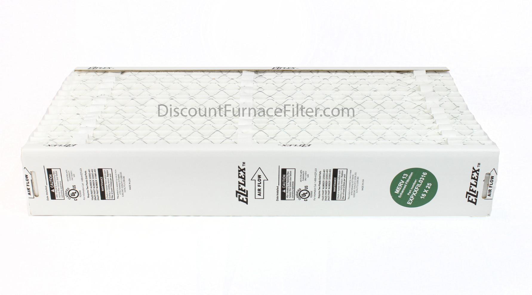 "Carrier EXPXXFIL0316 - EZ Flex 16"" Expandable Air Filter Merv 13 - Filter Only"