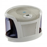 Essick Air 3D6 100 Multi-Room and Single-Room Evaporative Humidifier (White and Blue Finish) | Tabletop