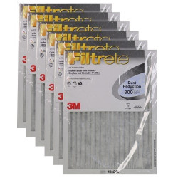 "3M Filtrete Dust Reduction Filter (6-Pack) - 18"" x 24"" x 1"" - MFG #321DC-6"
