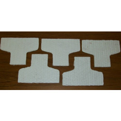 GeneralAire 880 replacement water panel/5 pack