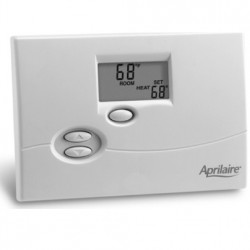 Aprilaire 8365 Programmable Thermostat- Single Stage Heat/Cool - ITEM DISCONTINUED