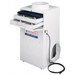 "Abatement Technologies CAP1200-UV Four Stage HEPA-AIRE Purifier w/ Germicidal UV-C ""Plus"" (4-10 tons)"