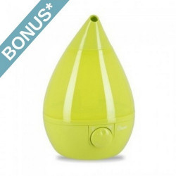 Crane Green Drop Shape Humidifier - EE-5301G