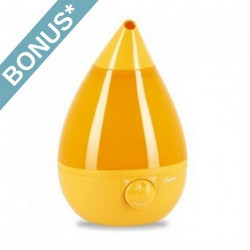 Crane Orange Drop Shape Humidifier - EE-5301O