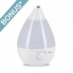 Crane White Drop Shape Humidifier - EE-5301W