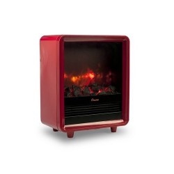 Crane EE-8075R - Red Electric Fireplace Heater