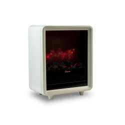 Crane EE-8075W - White Electric Fireplace Heater
