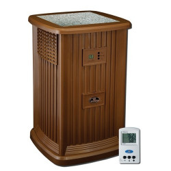 Essick Air EP9R 500 - Multi & Single Room Evaporative Pedestal Humidifier  - Nutmeg