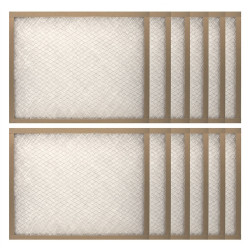 """Abatement Technologies H101-12 Year Supply of Replacement Filters for CAP100 Series (12-pak)  20"""" x 25"""" x 1"""""""