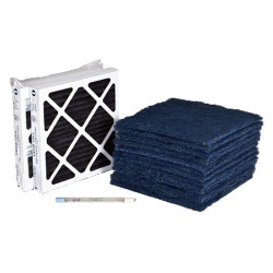 """Abatement Technologies PAK600-UV Yearly Replacement Filters & Lamps for CAP600-UV 16"""" X 16"""""""
