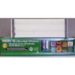 "Lennox X8312 - Healthy Climate HCXF16-16 MERV 16 Expandable Filter 16"" x 25"" x 5"""