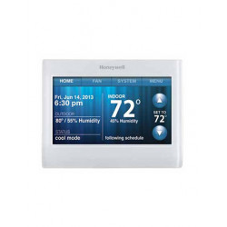 Honeywell TH9320WF5003 WiFi 9000 Thermostat - 7 Day Programmable Color Touchscreen