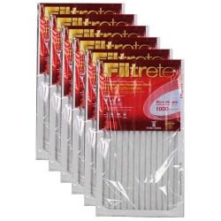 """3M Filtrete Micro Allergen Filter (6-Pack) - 14"""" x 24"""" x 1"""" - MFG #9823DC-6"""