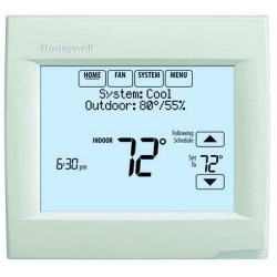 Honeywell TH8320R1003 Vision PRO 8000 7 Day Programmable Touchscreen 3H / 2C Heat Pump 2H / 2C Conventional Thermostat