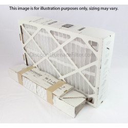 "Trane FLRQB5FR16M11- QuikBox Replacement Media Filter 2-Pack, MERV 11 - 15.75"" x 19"" x 4.7"""