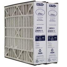 """Trion Air Bear 259112-103 (2 Pack) - Pleated Air Filter 20""""x20""""x5"""" MERV 11"""