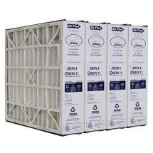 """Trion Air Bear 259112-103 (4 Pack) - Pleated Air Filter 20""""x20""""x5"""" MERV 11"""