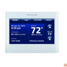 Honeywell THX9421R5021WW Prestige REDLINK 7 Day Programmable Touchscreen Color 4H / 2C Heat Pump or 3H / 2C Conventional Thermostat - Replaces Honeywell THX9321R5000