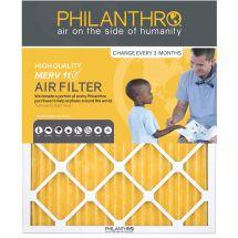 Philanthro 14x25x1 MERV 11 Furnace Filter-4 Pack